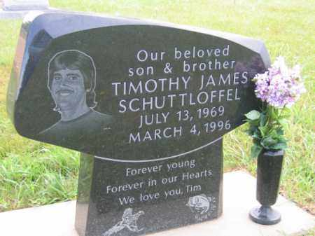 SCHUTTLOFFEL, TIMOTHY JAMES - Lincoln County, South Dakota | TIMOTHY JAMES SCHUTTLOFFEL - South Dakota Gravestone Photos