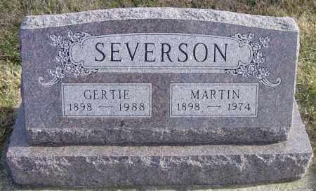 SEVERSON, GERTIE - Lincoln County, South Dakota | GERTIE SEVERSON - South Dakota Gravestone Photos