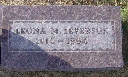 SEVERSON, LEONA M - Lincoln County, South Dakota   LEONA M SEVERSON - South Dakota Gravestone Photos