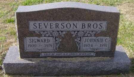 SEVERSON, SIGWARD - Lincoln County, South Dakota | SIGWARD SEVERSON - South Dakota Gravestone Photos