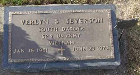 SEVERSON, VERLYN S - Lincoln County, South Dakota | VERLYN S SEVERSON - South Dakota Gravestone Photos