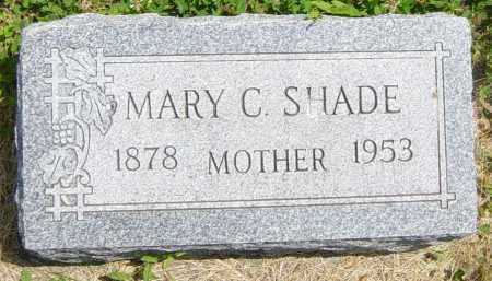 SHADE, MARY C - Lincoln County, South Dakota | MARY C SHADE - South Dakota Gravestone Photos