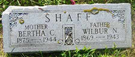 SHAFF, BERTHA C - Lincoln County, South Dakota | BERTHA C SHAFF - South Dakota Gravestone Photos