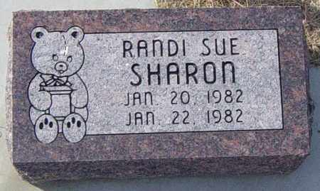SHARON, RANDI SUE - Lincoln County, South Dakota | RANDI SUE SHARON - South Dakota Gravestone Photos