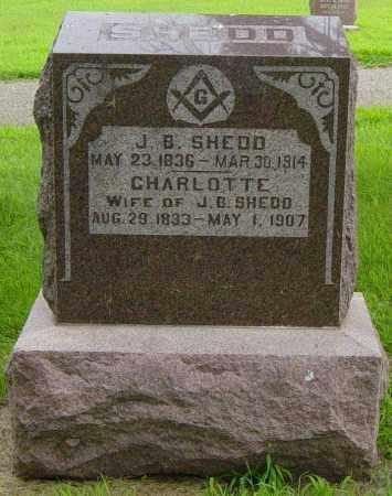 SHEDD, CHARLOTTE - Lincoln County, South Dakota | CHARLOTTE SHEDD - South Dakota Gravestone Photos