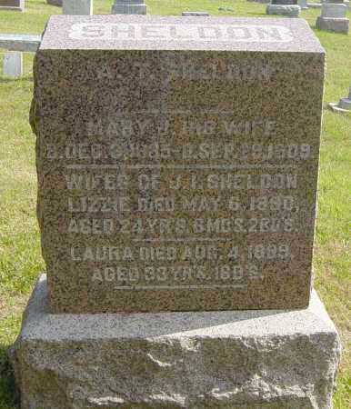 SHELDON, LAURA - Lincoln County, South Dakota | LAURA SHELDON - South Dakota Gravestone Photos