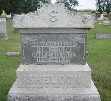 SHELDON, HARMAN B. - Lincoln County, South Dakota | HARMAN B. SHELDON - South Dakota Gravestone Photos