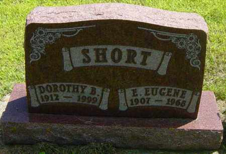SHORT, E EUGENE - Lincoln County, South Dakota | E EUGENE SHORT - South Dakota Gravestone Photos