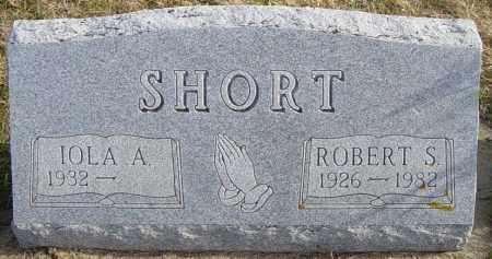 SHORT, ROBERT S - Lincoln County, South Dakota | ROBERT S SHORT - South Dakota Gravestone Photos