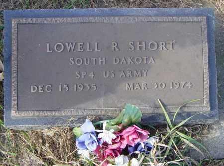 SHORT, LOWELL R - Lincoln County, South Dakota | LOWELL R SHORT - South Dakota Gravestone Photos
