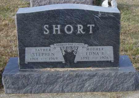 SHORT, EDNA F - Lincoln County, South Dakota | EDNA F SHORT - South Dakota Gravestone Photos