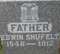 SHUFELT, EDWIN - Lincoln County, South Dakota   EDWIN SHUFELT - South Dakota Gravestone Photos