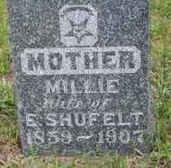 SHUFELT, MILLIE - Lincoln County, South Dakota   MILLIE SHUFELT - South Dakota Gravestone Photos