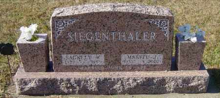 SIEGENTHALER, SACKETT W - Lincoln County, South Dakota | SACKETT W SIEGENTHALER - South Dakota Gravestone Photos