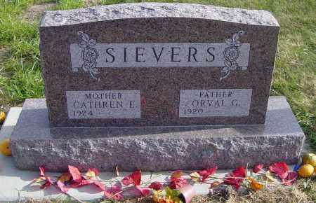 SIEVERS, CATHREN E - Lincoln County, South Dakota   CATHREN E SIEVERS - South Dakota Gravestone Photos