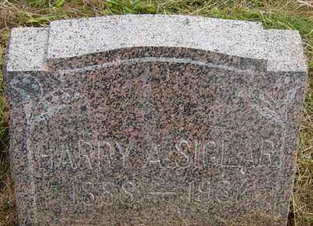 SIGLAR, HARRY A - Lincoln County, South Dakota | HARRY A SIGLAR - South Dakota Gravestone Photos