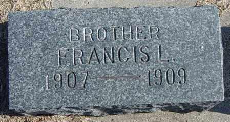 SIGRUD, FRANCIS L - Lincoln County, South Dakota   FRANCIS L SIGRUD - South Dakota Gravestone Photos