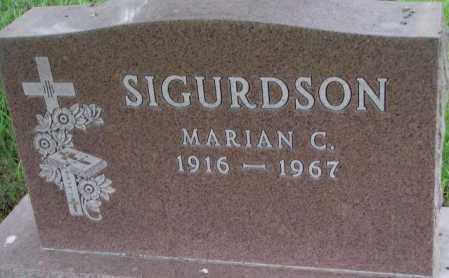 SIGURDSON, MARIAN C. - Lincoln County, South Dakota | MARIAN C. SIGURDSON - South Dakota Gravestone Photos
