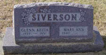 SIVERSON, GLENN KEITH - Lincoln County, South Dakota | GLENN KEITH SIVERSON - South Dakota Gravestone Photos