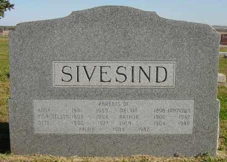 SIVESIND, MELVIN - Lincoln County, South Dakota | MELVIN SIVESIND - South Dakota Gravestone Photos