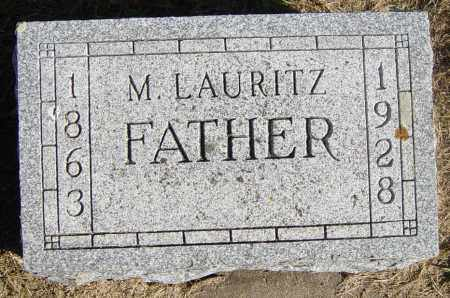 SIVESIND, M LAURITZ - Lincoln County, South Dakota | M LAURITZ SIVESIND - South Dakota Gravestone Photos