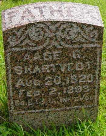 SKARTVEDT, AAGE - Lincoln County, South Dakota | AAGE SKARTVEDT - South Dakota Gravestone Photos