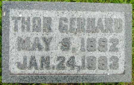 SKARTVEDT, THOR GERHARD - Lincoln County, South Dakota | THOR GERHARD SKARTVEDT - South Dakota Gravestone Photos