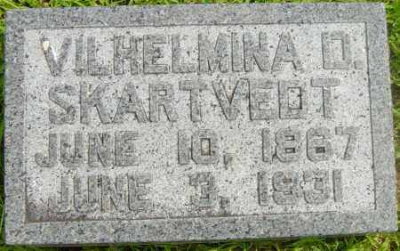SKARTVEDT, VILHELMINA D - Lincoln County, South Dakota | VILHELMINA D SKARTVEDT - South Dakota Gravestone Photos