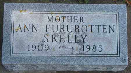 FURUBOTTEN SKELLY, ANN - Lincoln County, South Dakota | ANN FURUBOTTEN SKELLY - South Dakota Gravestone Photos