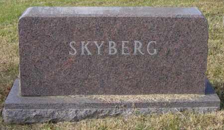 SKYBERG FAMILY MEMORIAL, VERNON E - Lincoln County, South Dakota | VERNON E SKYBERG FAMILY MEMORIAL - South Dakota Gravestone Photos