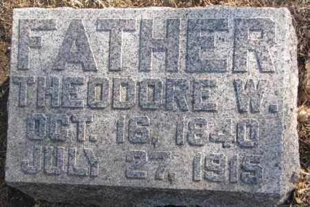 SMELKER, THEODORE W. - Lincoln County, South Dakota | THEODORE W. SMELKER - South Dakota Gravestone Photos