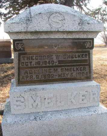 SMELKER, THEODORE W. - Lincoln County, South Dakota   THEODORE W. SMELKER - South Dakota Gravestone Photos
