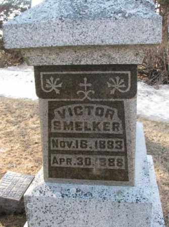 SMELKER, VICTOR - Lincoln County, South Dakota | VICTOR SMELKER - South Dakota Gravestone Photos