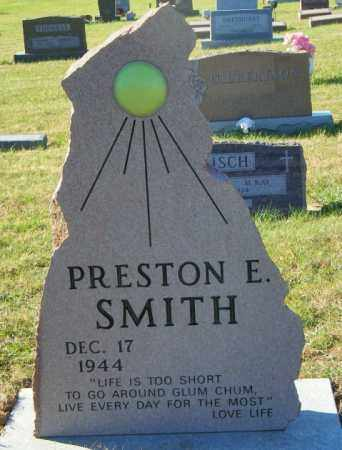 SMITH, PRESTON E - Lincoln County, South Dakota | PRESTON E SMITH - South Dakota Gravestone Photos