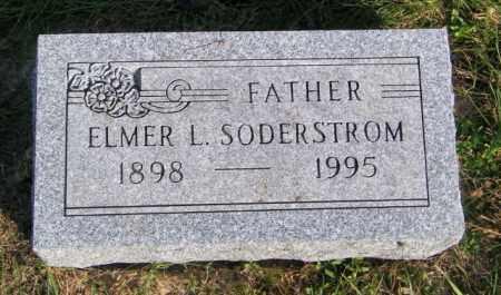 SODERSTROM, ELMER L. - Lincoln County, South Dakota | ELMER L. SODERSTROM - South Dakota Gravestone Photos