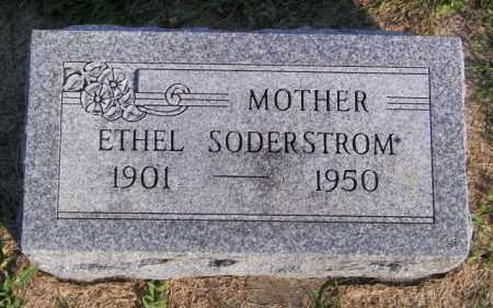 SODERSTROM, ETHEL - Lincoln County, South Dakota | ETHEL SODERSTROM - South Dakota Gravestone Photos