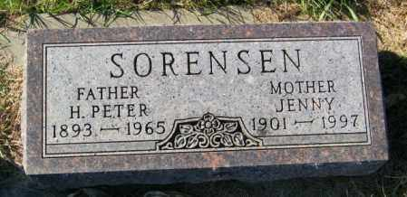 SORENSEN, H. PETER - Lincoln County, South Dakota | H. PETER SORENSEN - South Dakota Gravestone Photos