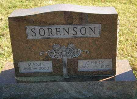 SORENSON, CHRIS - Lincoln County, South Dakota | CHRIS SORENSON - South Dakota Gravestone Photos