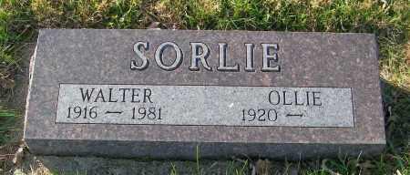 SORLIE, WALTER - Lincoln County, South Dakota | WALTER SORLIE - South Dakota Gravestone Photos