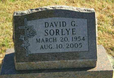 SORLYE, DAVID G. - Lincoln County, South Dakota | DAVID G. SORLYE - South Dakota Gravestone Photos
