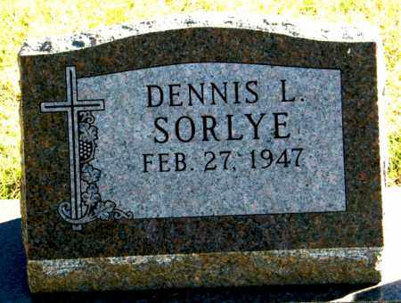 SORLYE, DENNIS L. - Lincoln County, South Dakota | DENNIS L. SORLYE - South Dakota Gravestone Photos