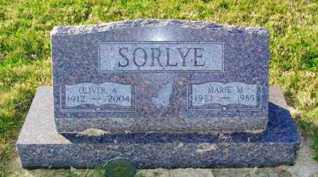 SORLYE, MARIE M. - Lincoln County, South Dakota | MARIE M. SORLYE - South Dakota Gravestone Photos