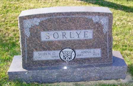 SORLYE, ANNA S. - Lincoln County, South Dakota   ANNA S. SORLYE - South Dakota Gravestone Photos