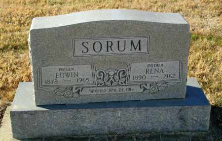 SORUM, RENA - Lincoln County, South Dakota | RENA SORUM - South Dakota Gravestone Photos