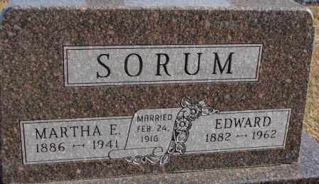 SORUM, MARTHA E. - Lincoln County, South Dakota | MARTHA E. SORUM - South Dakota Gravestone Photos