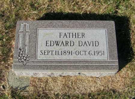 SOUVIGNIER, EDWARD DAVID - Lincoln County, South Dakota | EDWARD DAVID SOUVIGNIER - South Dakota Gravestone Photos
