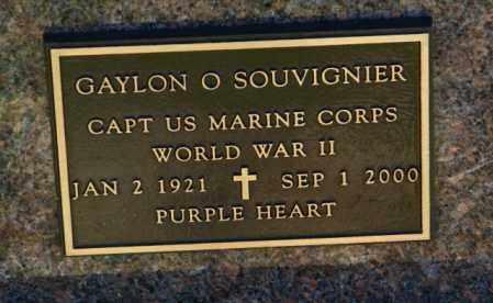 SOUVIGNIER, GAYLON O. - Lincoln County, South Dakota   GAYLON O. SOUVIGNIER - South Dakota Gravestone Photos