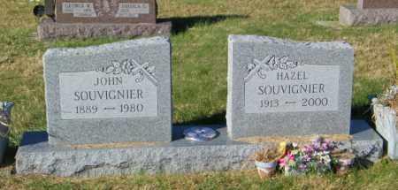 SOUVIGNIER, JOHN - Lincoln County, South Dakota | JOHN SOUVIGNIER - South Dakota Gravestone Photos