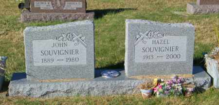 SOUVIGNIER, HAZEL - Lincoln County, South Dakota | HAZEL SOUVIGNIER - South Dakota Gravestone Photos