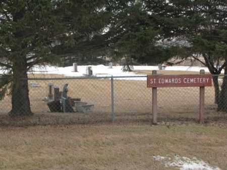 *ST. EDWARD'S, FRONT - Lincoln County, South Dakota | FRONT *ST. EDWARD'S - South Dakota Gravestone Photos